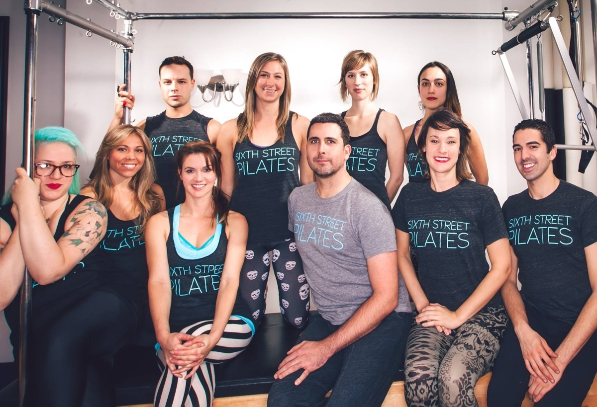 Pilates by Deneka Peniston — with Anula Maiberg, Benjamin Stuber, Danielle King, Allie Lochary, Jeremy Laverdure, Amy Larson, Devika Wickremesinghe, Allison DeVane and Greg Youdan.