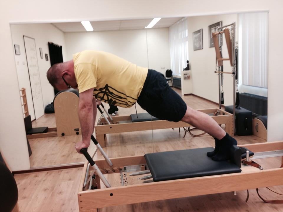 "Cees Sinke:""I think you could say I'm a Pilates veteran!"""