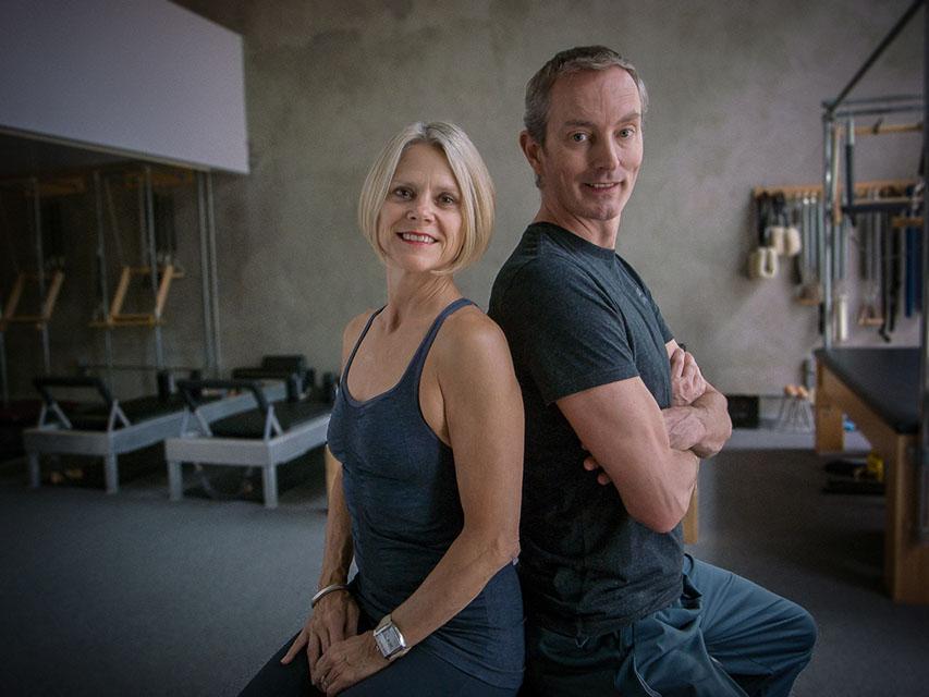 Krisna Hanks and Robert Surenbroek