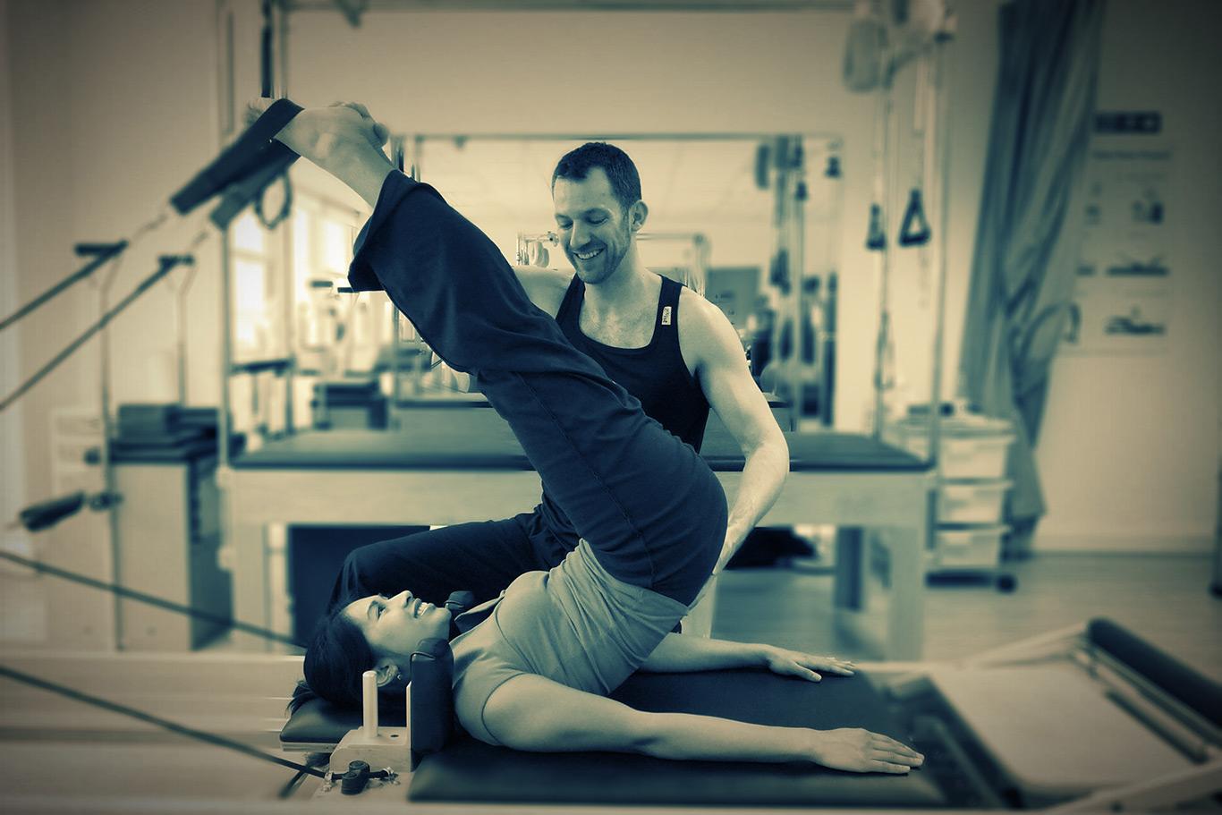 Jon teaching Short Spine Massage