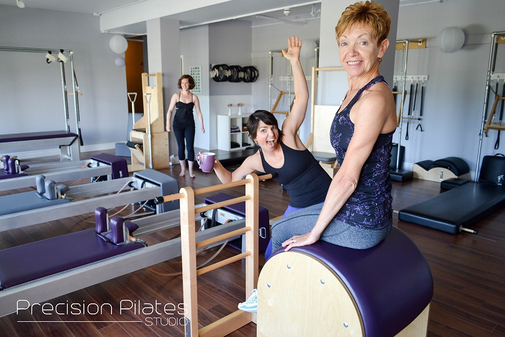 Pilates is fun!