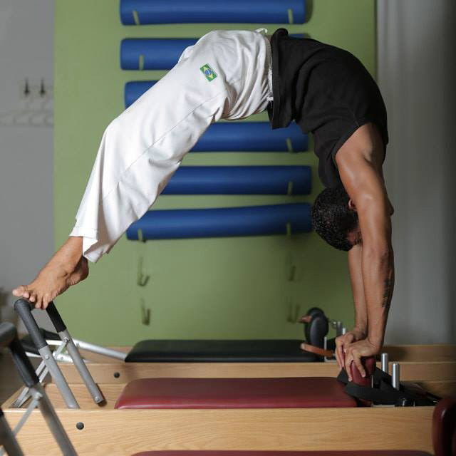 The Reformer is Walid's favorite apparatus