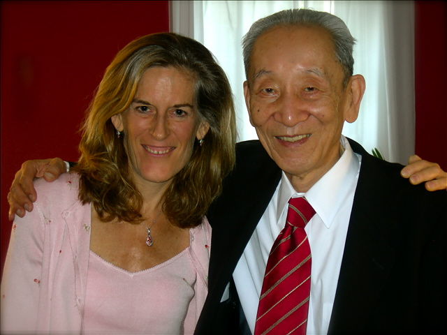Sheri DeMaris and Michio Kushi