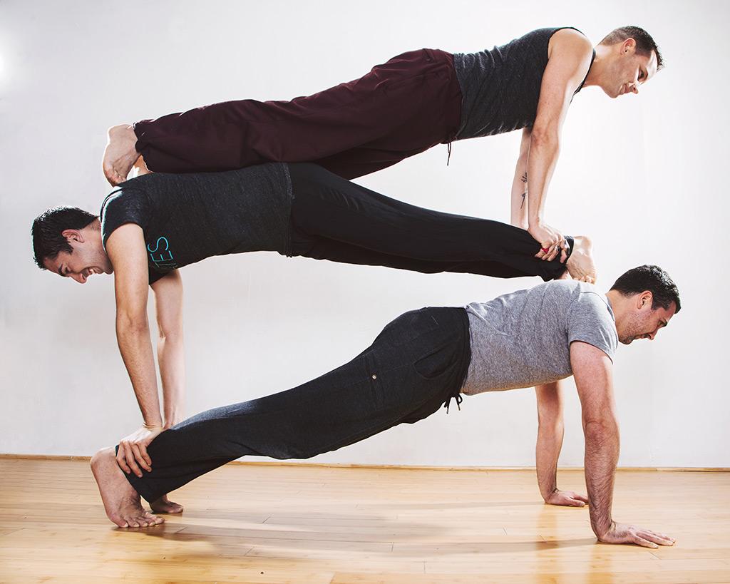 Men at Sixth Street Pilates