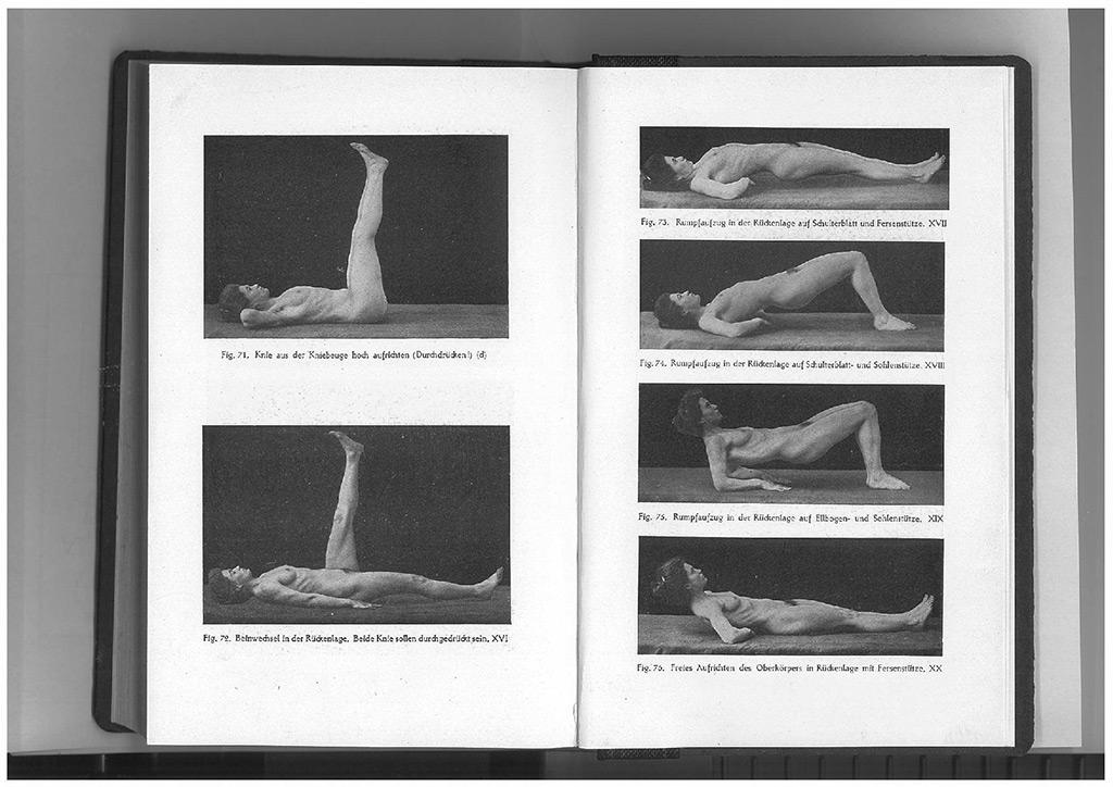 """Bess Mensendieck, 1906 """"Körperkultur des Weibes"""""""