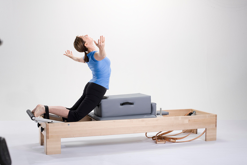 Amy on Reformer CenterLine.